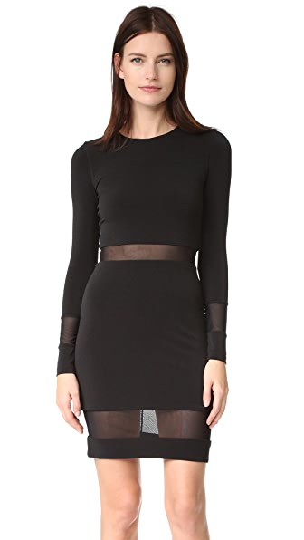 alice + olivia AIR Madie Long Sleeve Dress at Shopbop