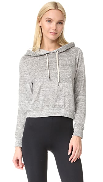 alice + olivia AIR Rowen Shrunken Cropped Hoodie