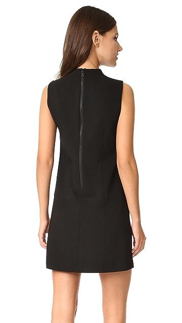 alice + olivia Aris Drop Waist Shift Dress
