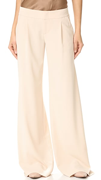 Eric Wide Leg Pleat Front Pants