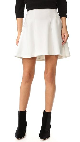 alice + olivia Sibel Fit & Flare Skirt