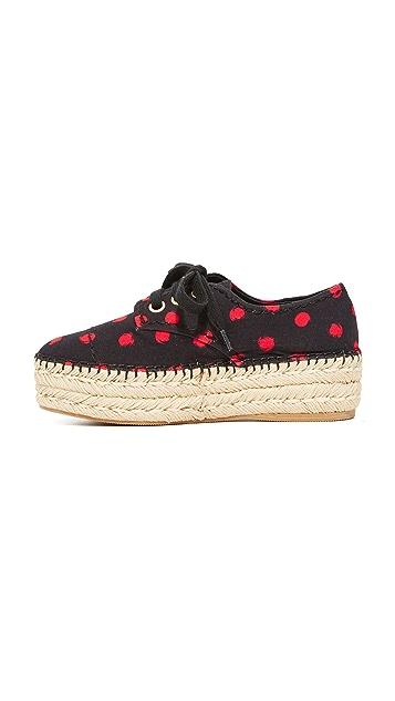 alice + olivia Rory Espadrille Platform Sneakers
