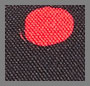 Black/Red Abstract Dot
