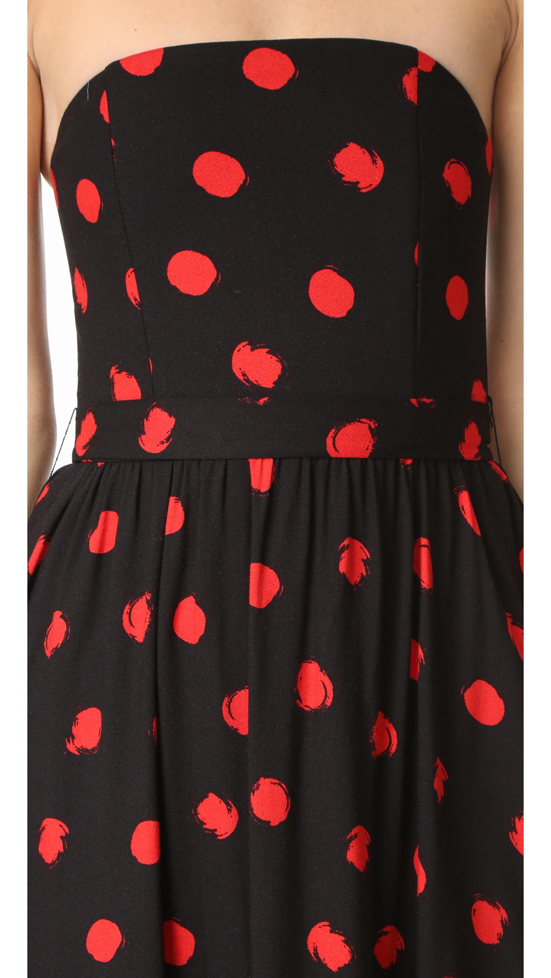 bc25dbaa41f01 alice + olivia Belva Strapless Midi Dress | SHOPBOP