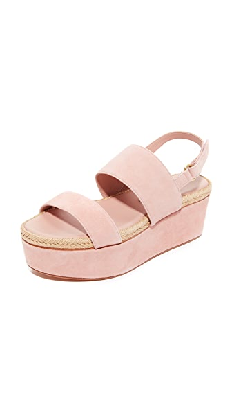 alice + olivia Anastasia Flatforms - Blush