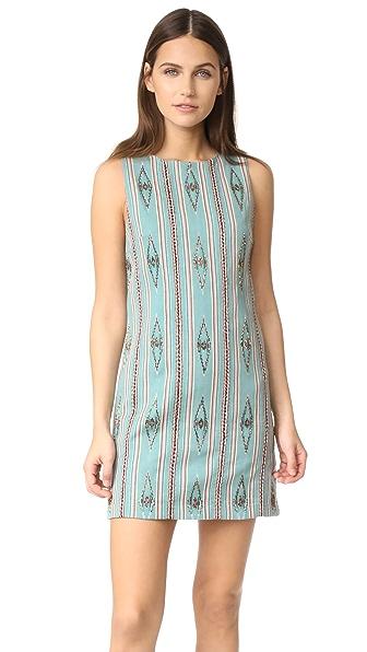 alice + olivia Clyde Embellished Shift Dress - Multi