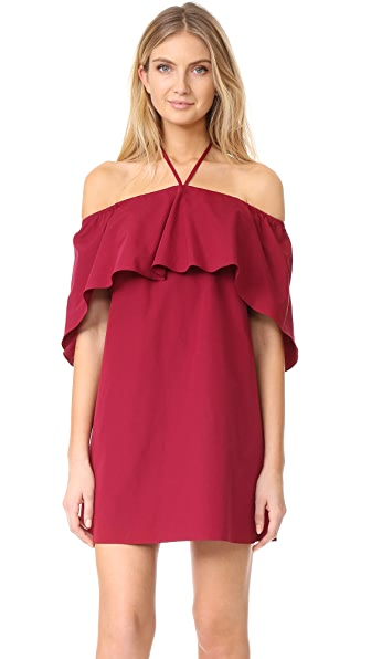alice + olivia Jade Caped Dress at Shopbop