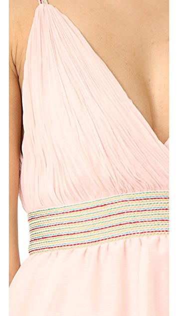 alice + olivia Luba Tiered Gown