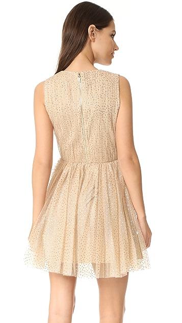 alice + olivia Monica Gathered Party Dress