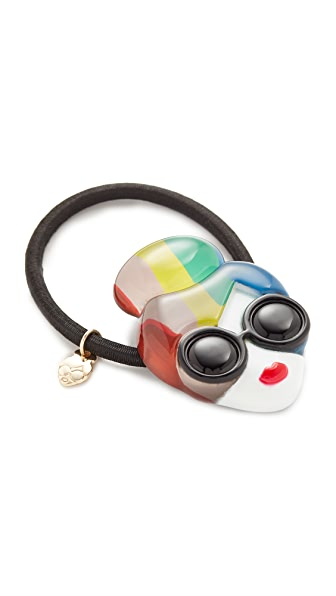 alice + olivia Rainbow Stace Hair Tie - Multi