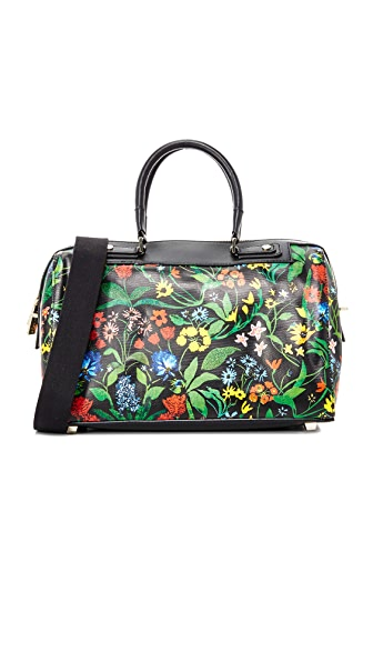 alice + olivia Chelsea Wildflower Elioise Bowler Bag