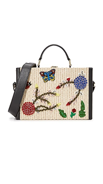 alice + olivia Insects Sydney Trunk Bag - Multi