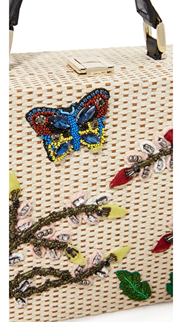 alice + olivia Insects Sydney Trunk Bag
