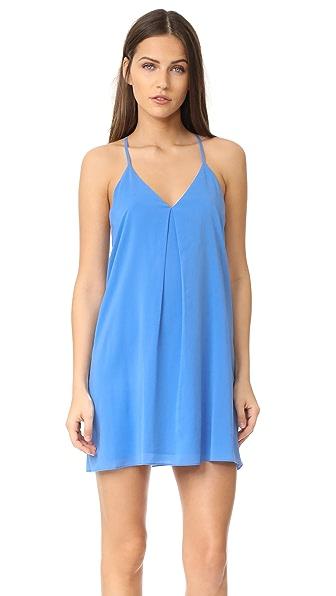 alice + olivia Fierra Dress - Cornflower Blue