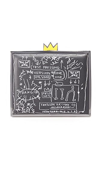 alice + olivia Клатч AO X Basquiat Beat Bop