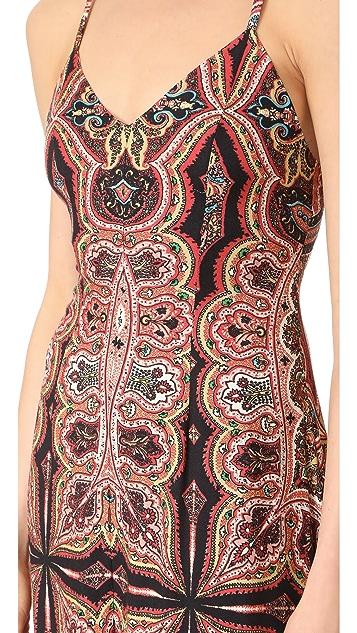 alice + olivia Alves Maxi Dress