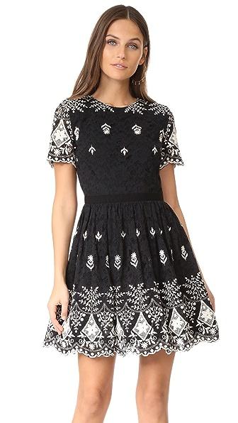 alice + olivia Nigel Party Dress