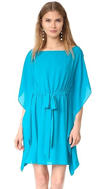 alice + olivia Zella Short Caftan Dress