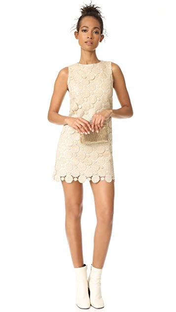 alice + olivia Clyde A-Line Shift Dress