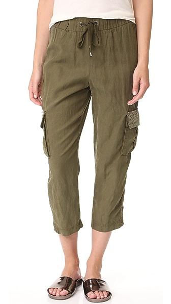alice + olivia Anders Embellished Cargo Pants