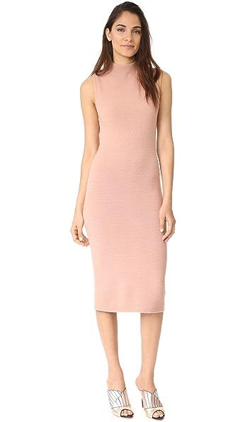 alice + olivia Hana Dress In Rose Tan