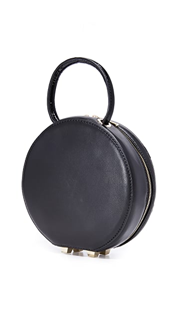 alice + olivia Stace Face Circular Mini Bag