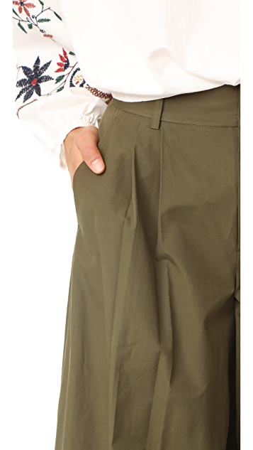 alice + olivia Dustin Super Flare Pants