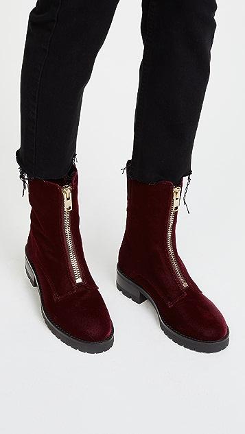 alice + olivia Dustin Zip Boots