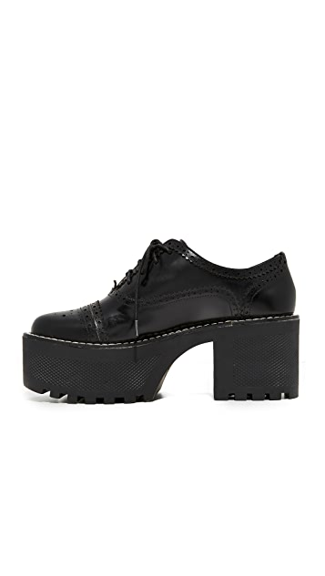 alice + olivia Ripley Platform Oxfords