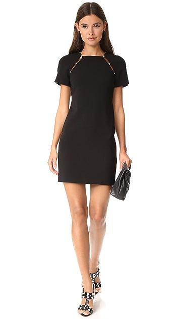 alice + olivia Kristiana Fitted Dress