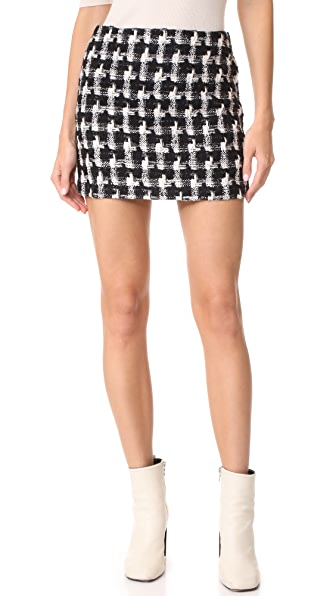 alice + olivia Elana Miniskirt at Shopbop