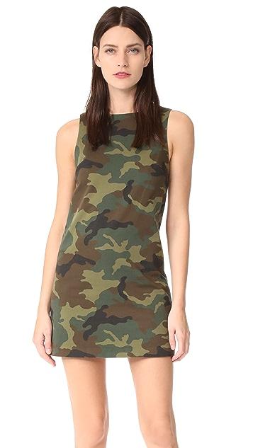 alice + olivia Clyde Aline Camo Shift Dress