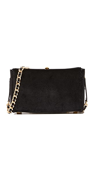 alice + olivia Collette Mini Cross Body Bag - Black