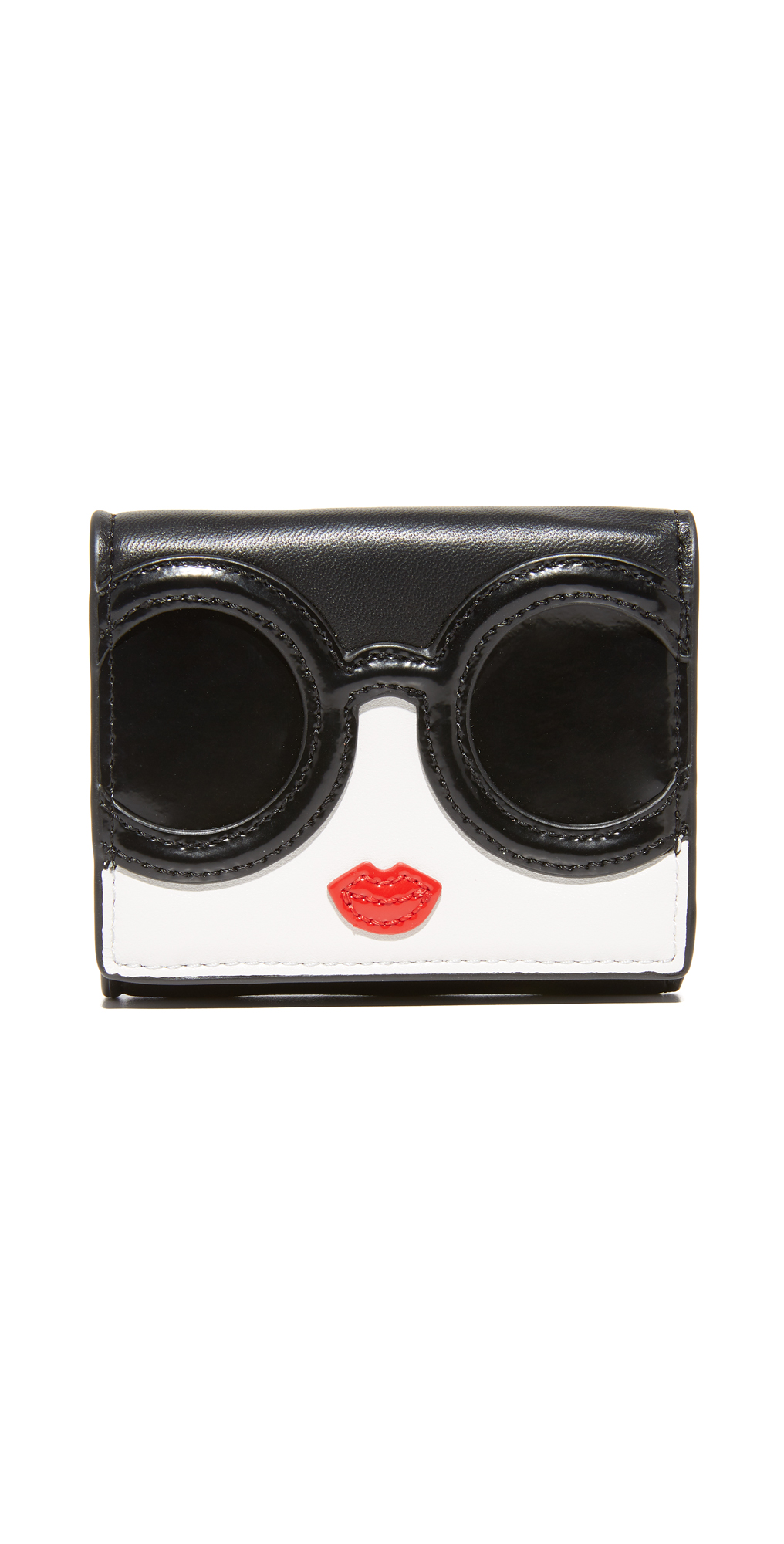 Stace Face Trifold Wallet alice   olivia