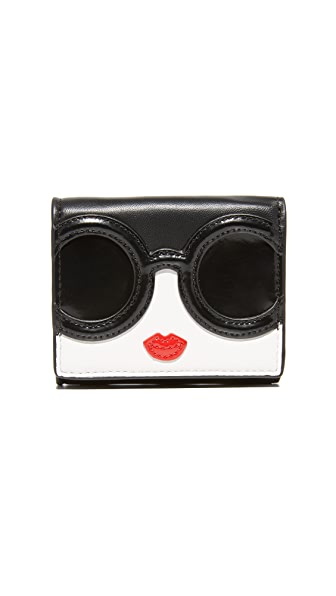 alice + olivia Stace Face Trifold Wallet - Multi