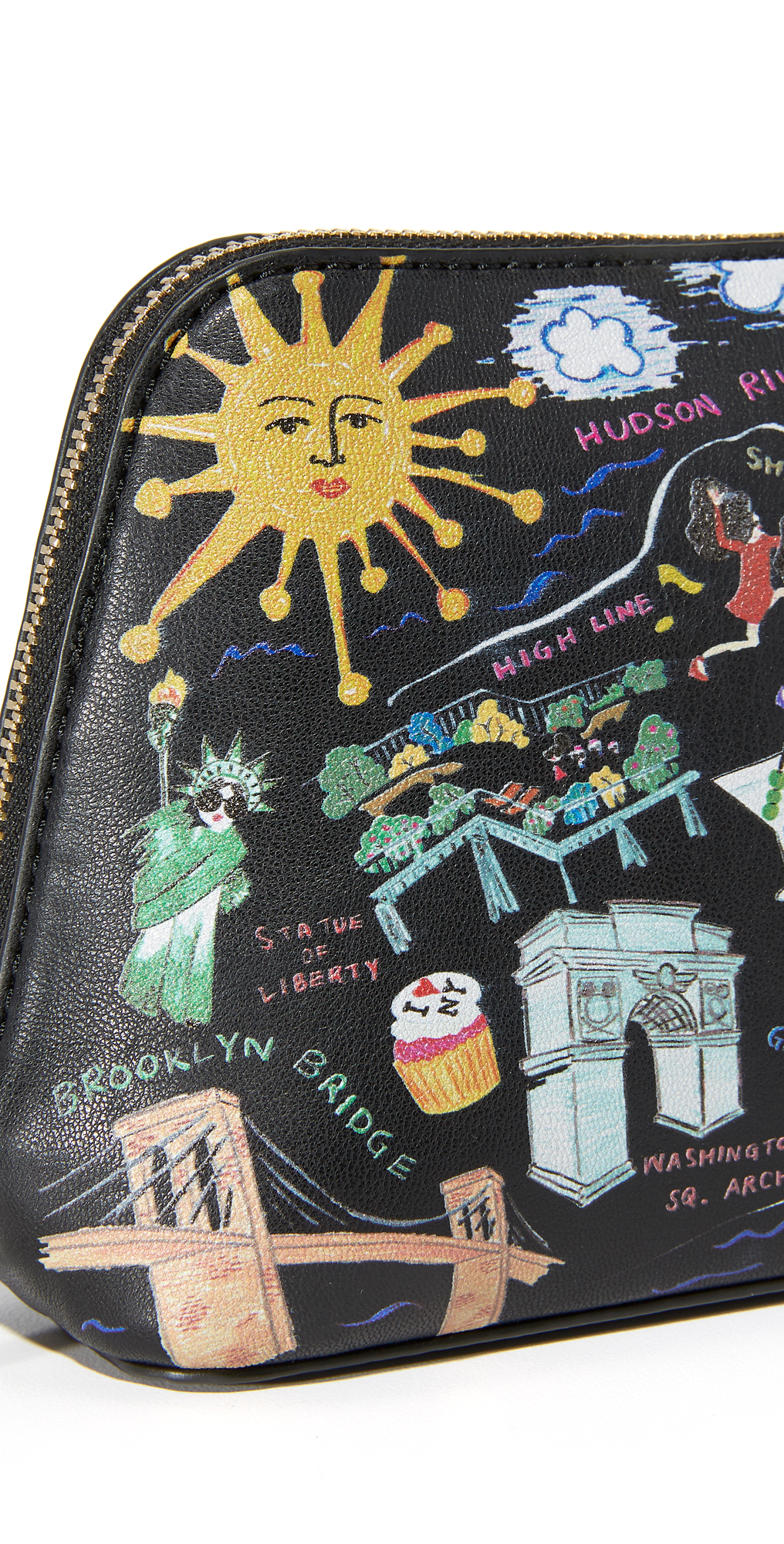 alice + olivia Nikki Comsetic Bag
