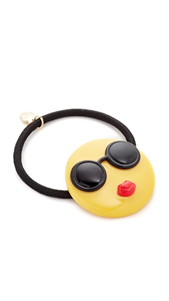 alice + olivia Stace Emoji Hair Tie