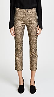 alice + olivia Tasha Cropped Pants
