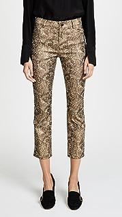 alice + olivia Укороченные брюки Tasha
