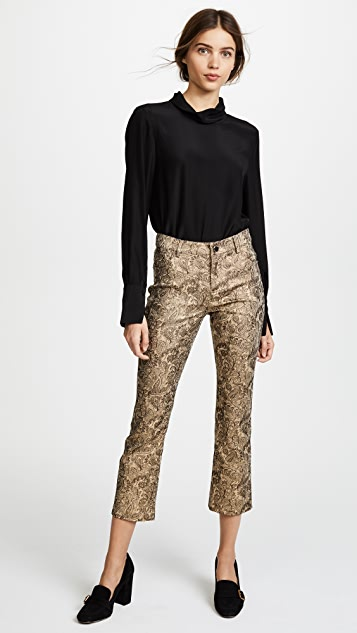 alice + olivia Tasha Cropped Pants