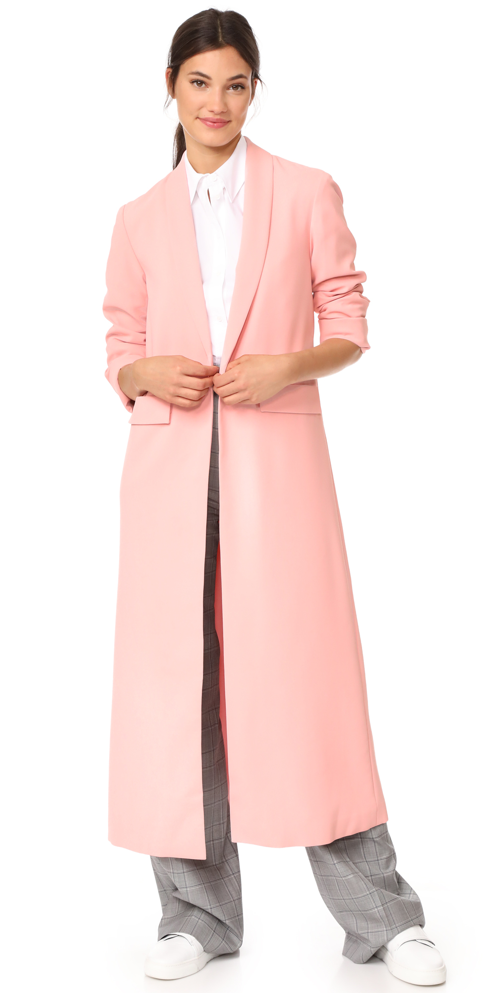Angela Long Coat alice   olivia