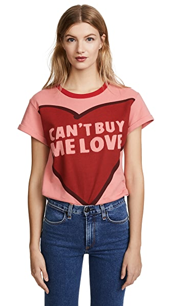 Alice And Olivia Tops X THE BEATLES PALMER TEE