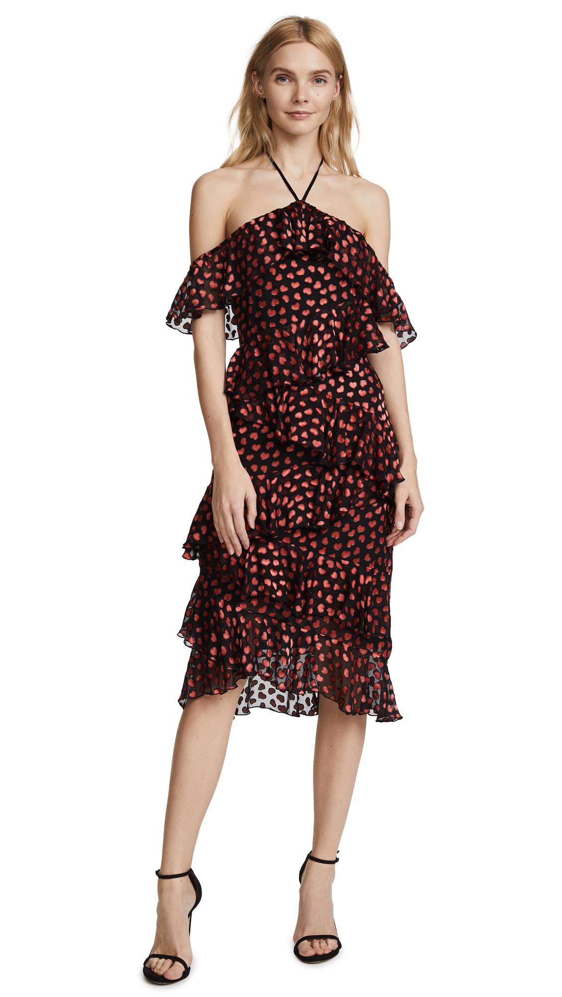 alice + olivia Annabeth Off Shoulder Dress