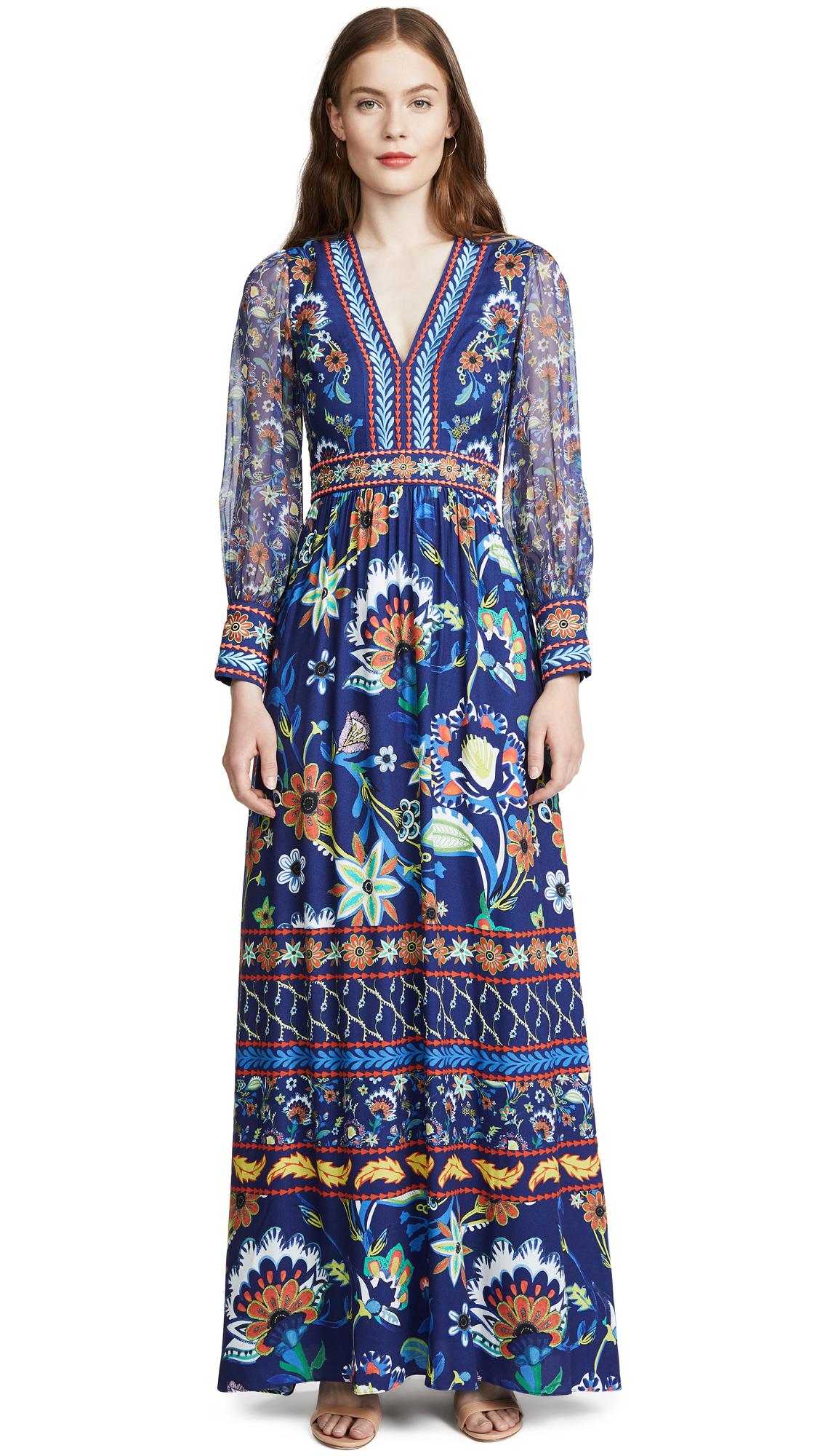 alice + olivia Jada Maxi Dress