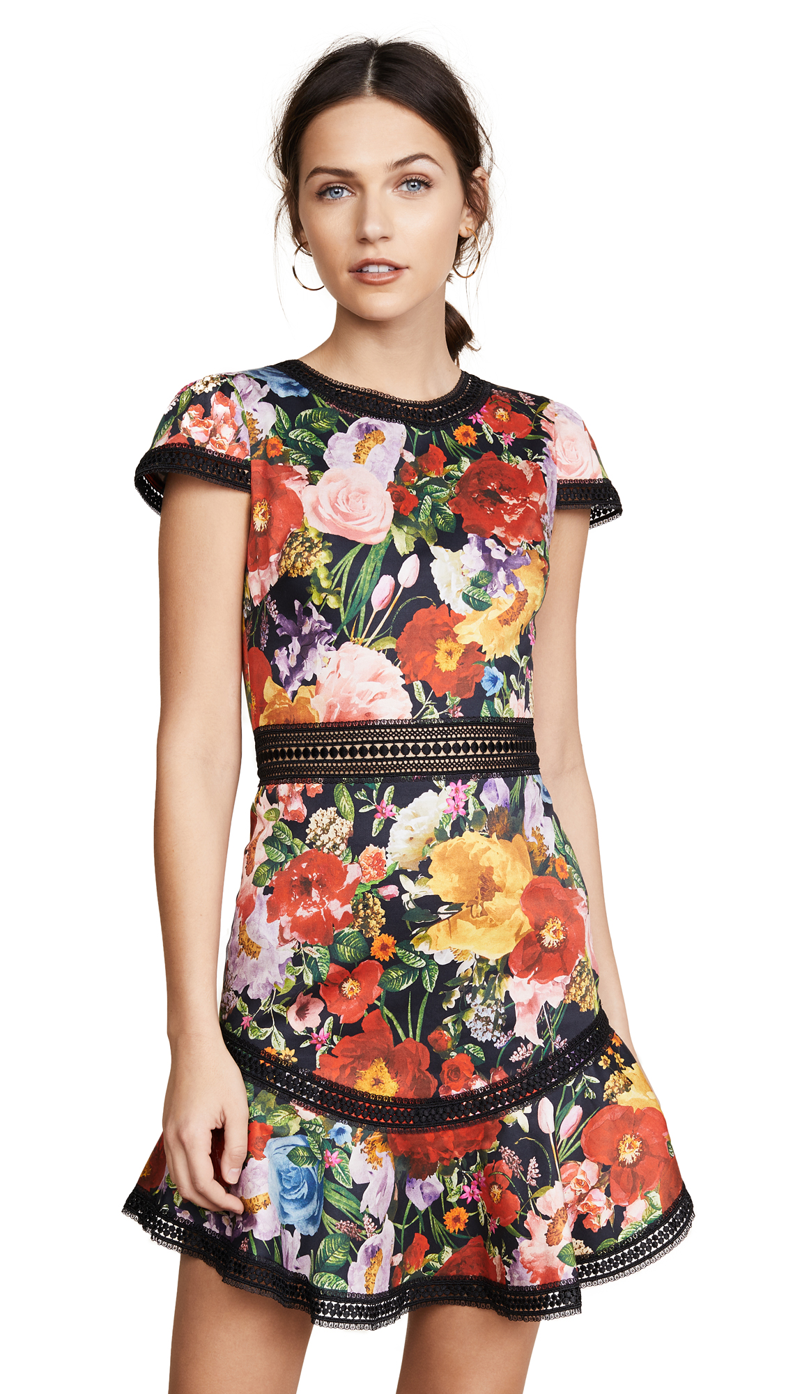 alice + olivia Rapunzel Flutter Dress