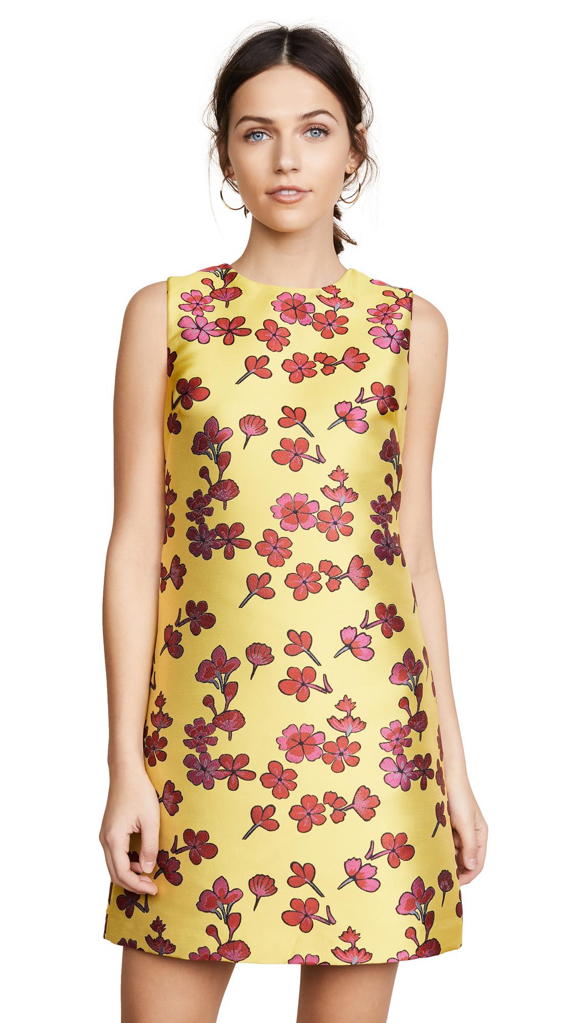 alice + olivia Coley Dress - Sunflower/Poppy