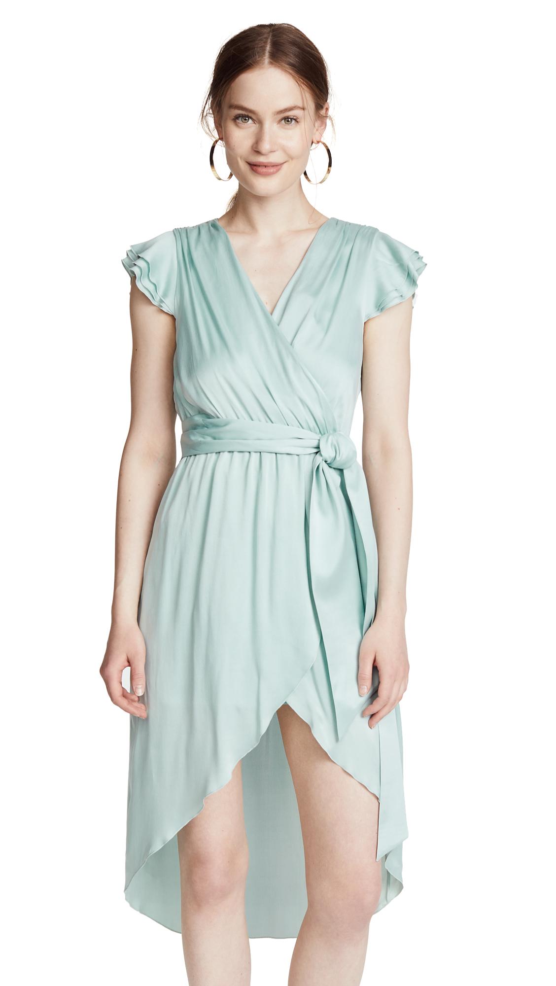 alice + olivia Ilissa Wrap Dress
