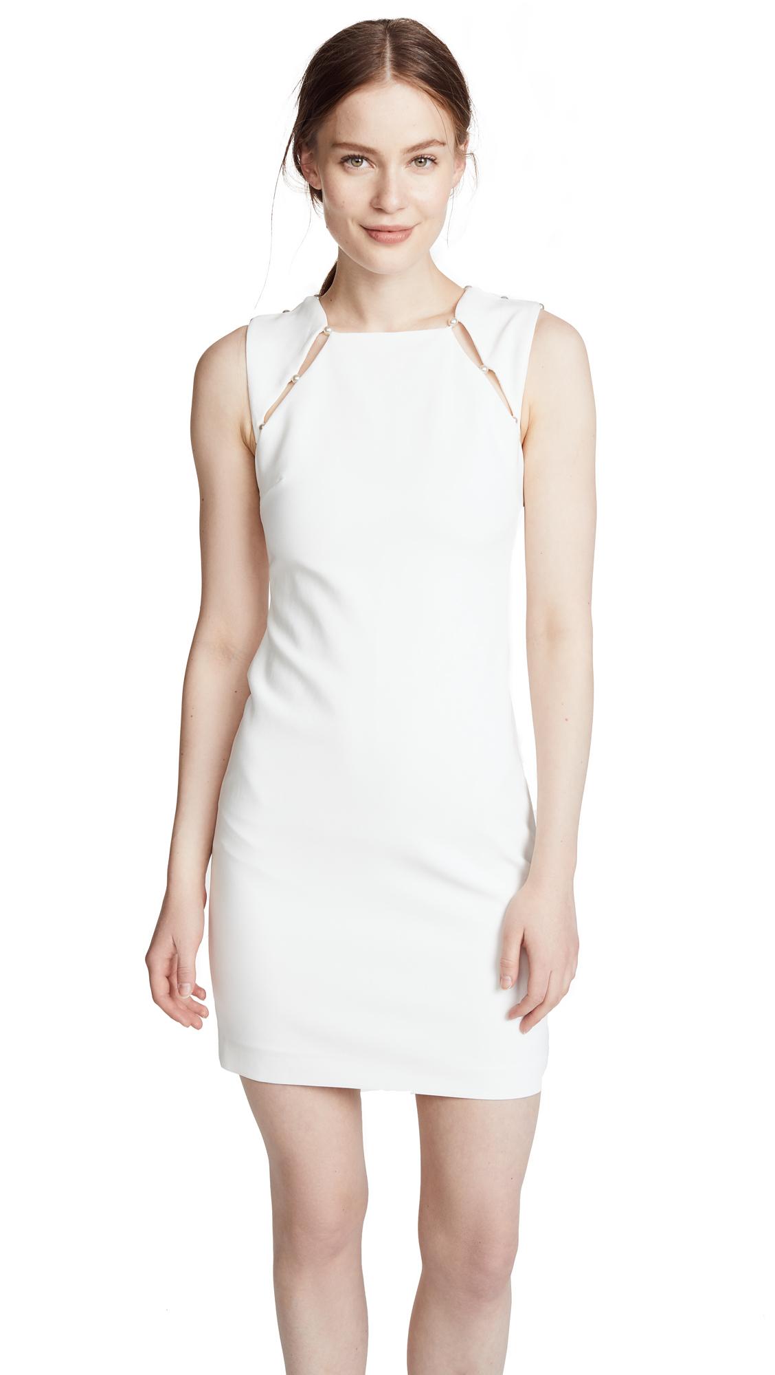 alice + olivia Kristiana Dress In Off White