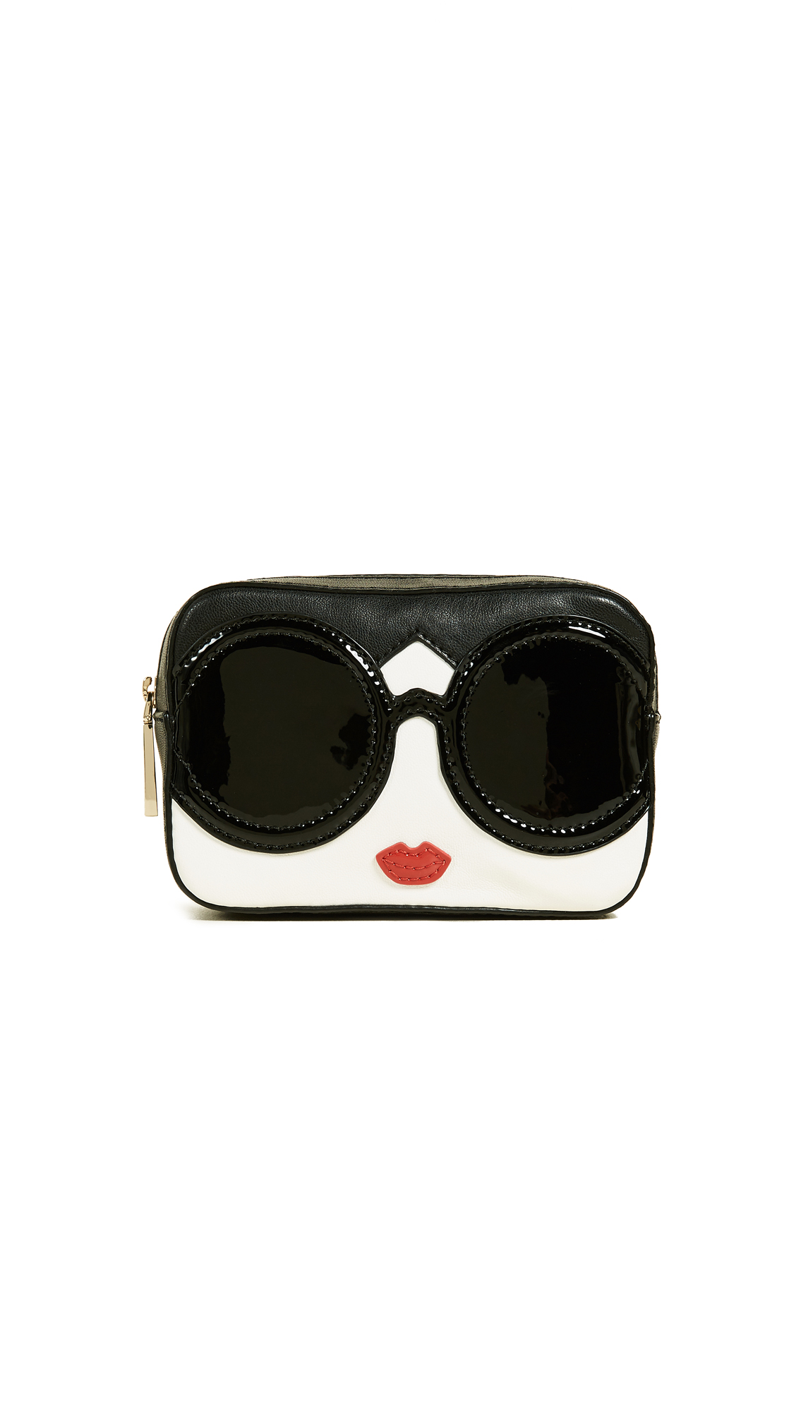 alice + olivia Stace Face Small Travel Cosmetic Case - Multi