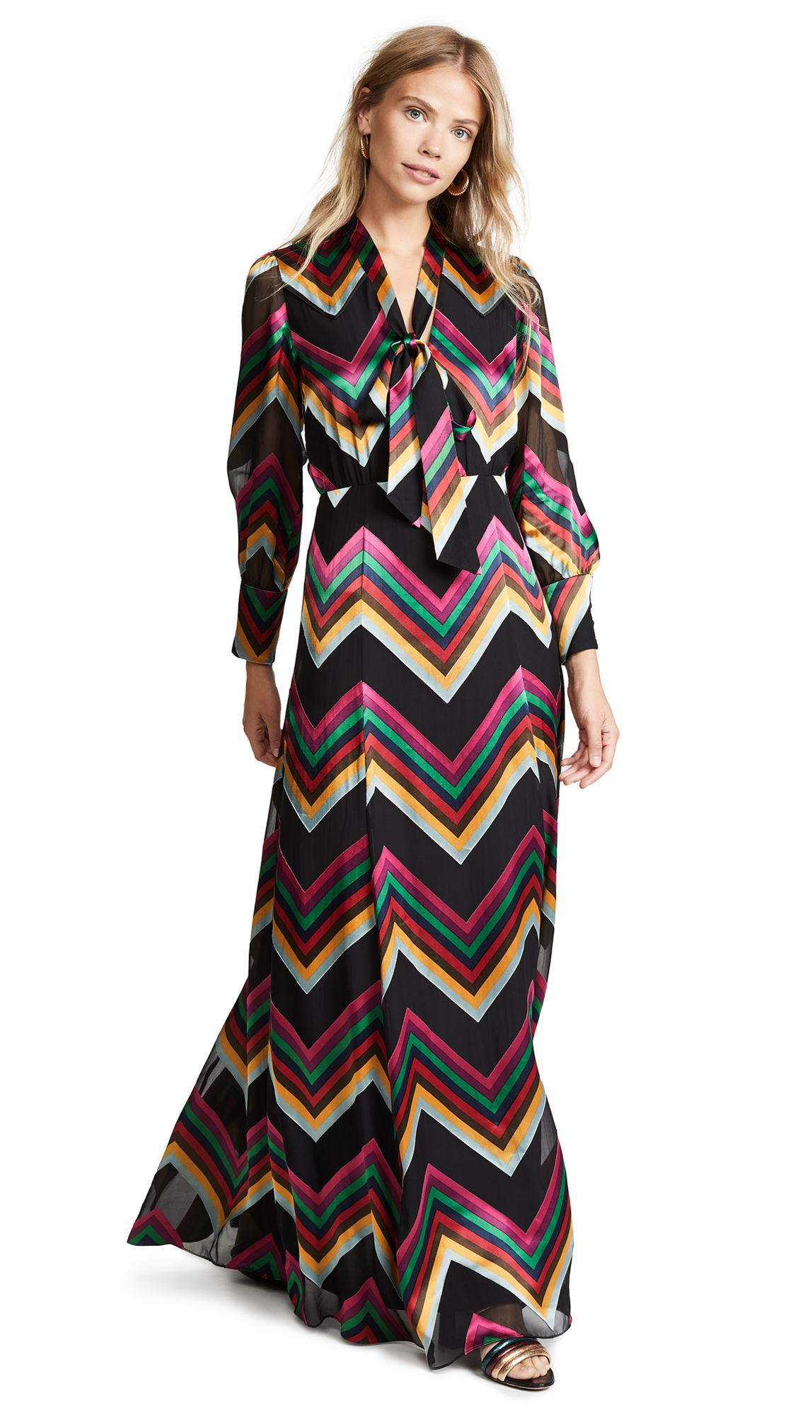 alice + olivia Annabella Maxi Dress